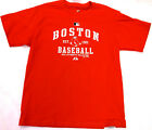 Majestic Authentic Youth Boston Red Sox Baseball Short Sleeve T-Shirt Tee NEW on Ebay