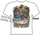 Ratfink T Shirts Hot Rod Clothes Big Daddy Clothing Ed Roth T Shirts World Tour