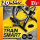 Watchers:502 PROFLEX Indoor Bicycle Trainer - Bike Cycling Stationary Magnetic Stand Training