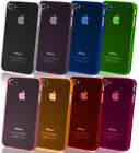 1 Pcs Stylish Slim See Through Hard Case Cover for i Phone 4 4S Ultra Thin 0.5MM