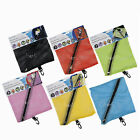 Hanging Net Zip Storage Bag Karabiner Home Caravan Travel Camping Toys 6 Colors