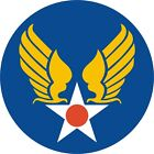 U.S. Army Air Corps Shield Wall Vinyl Decal Sticker Military