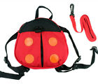 2 Style Ladybug & Bat Baby Toddler Safety Harness Backpack Strap Walker Reins