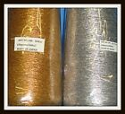 5 M X Metallic GOLD OR SILVER ELASTIC THREAD Sew & Craft 1 MM WIDE Choose Colour