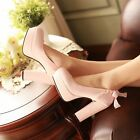 Women ladies high heels platform slip on pumps sexy lace party shoes LLSL8