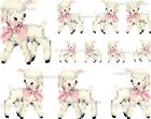 ~Vintage Image Shabby Baby Nursery Little Lamb Waterslide Decals~ AN641