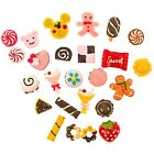Flatbacks Resin Mixed Cake Dessert Ice Cream Lolly Candy Cabochon Decoden Crafts