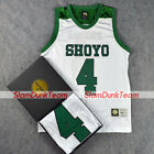 SLAM DUNK Cosplay Costume Shoyo School Basketball #4 Fujima Replica Jersey WHITE