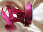 Wedding Party Prom Florist Roll Of Satin Ribbon  3 - 25 metres - All Colours