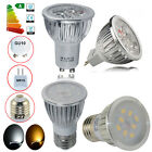 Buy 8 Get 2 Free 4/10/20x MR16 GU10 6W 8W LED Bulbs SMD Lamps Warm Day Light UK