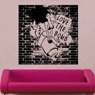 Love the Bomb Decal Vinyl Wall Sticker Art Grafftti Street War Army