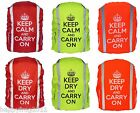 """WATERPROOF BACKPACK RUCKSACK RAIN COVER WITH STOPPER SIZE """"M"""" FREE UK DELIVERY"""