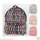 Lovely Cat backpack women girl travel fashion campus bookbag rucksack schoolbag