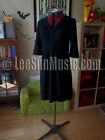 Gorgeous Black BODEN Wool V Neck Dress UK 8 12 14 NEW