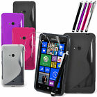 WAVE S LINE GRIP GEL CASE SILICONE CASE COVER FOR NOKIA LUMIA 625