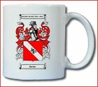 DAVIES COAT OF ARMS COFFEE MUG