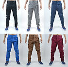 Mens Humor Jeans Designer Straight Tapered Fit Chino Pants Retro Vintage Fashion