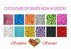 SIXLETS PEARLY CANDY BALLS 750G PICK A COLOUR !  Lollies Bulk Candy GLUTEN FREE