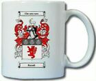 RUSSELL COAT OF ARMS COFFEE MUG