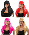 LONG WIG Fancy Dress Wigs Full Long Straight Cosplay Ladies Wig Party Cosplay