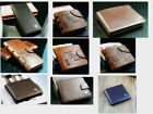 MEN'S SOFT HIGH QUALITY  GENUINE REAL LEATHER BIFOLD WALLET MULTI POCKET PURSE