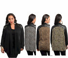 NWT Animal Cheetah Cardigan Faux Leather PLUS SIZE Top XL,1X,2X,3X  FREE SHIP