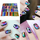 Foil Galaxy Nail Sticker Paper Shiny Decal 40 Colors Must Have
