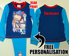 BNWT PERSONALISED MIKE THE KNIGHT PYJAMAS 12-18-24 MTHS 2-3 3-4 YRS