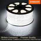 PREMIER IP66 240v Cool White SMD 3528 LED Ribbon Strips Rope Lights UK 5M 10M