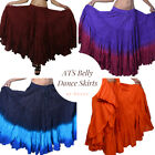 Gypsy Cotton Skirt 4 Tier 25 Yard Women Belly Dance EHS 30 Color