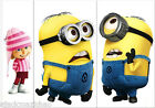 Mini Minions Despicable Me 2 Switch Wall Stickers Nursery Kids Decor Decals AU