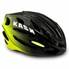 KASK 50NTA Road Cycling Helmet - Black/Yellow