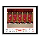 Personalised Wales Welsh Rugby Union WRU Shirt Dressing Room Picture Photo