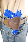 NEW Barsony Brown Leather OWB Yaqui Holster Kel-Tec Taurus Sccy 380 UltraComp 9