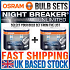 NEW OSRAM NIGHT BREAKER UNLIMITED CHOOSE YOUR LOW BEAM / HIGH BEAM SET FROM LIST