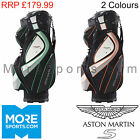 ASTON MARTIN S GOLF DELUXE CART BAG - FITS POWAKADDY MOTOCADDY TROLLEY BUGGY NEW
