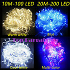 New LED Christmas Tree Lights Fairy String Xmas Party Wedding Indoor UK 10M 20M