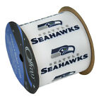 SEATTLE SEAHWAWKS RIBBON- SEAHAWKS HAIRBOW RIBBON,CRAFTING RIBBON  4 WIDTHS