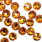 Topaz (203) Swarovski 2038/2028 6ss Flatbacks Hotfix Iron-on Rhinestones 2mm ss6