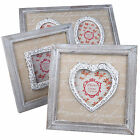 Wholesales Personalised Wood Wooden Photo Frame Valentine's Day Keepsake Gifts