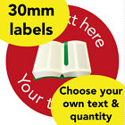 30mm Personalised stickers 'Green book' English Science Math Teacher Read label