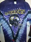 BALTIMORE RAVENS NEW  Tie Dye V Dye T-Shirt on eBay