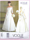 Vogue V2842 Sewing Pattern Misses' Bridal Dress/Gown - with Flared Skirt