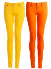 Womens Spring Coloured Skinny Slim Fit Stretchy Ladies Denim Jeans Trousers 8-16