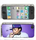 Wiz Khalifa Iphone Case (4,4s,5,5s,5c) Purple Smoke Music