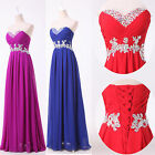 New Stock Hot Sweetheart Prom Party Bridesmaid Evening Dress Size6 8 10 12 14 16