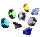 Huge 100mm Crystal Diamond Shaped Cut Glass Paperweight  Wedding Decor Gifts Hot