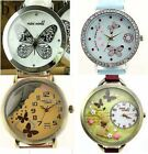 butterfly Mini polymer clay watch fashion ladies woman  waterproof Gift Xmas new