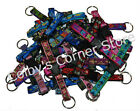 """Lupine Buckle Key Ring Buckle Snap Key Chain 1/2""""  Wide Key Chain"""
