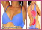 Pale Blue Multiway Underwired Padded T Shirt Bra Size 32 - 38 Cup B C D